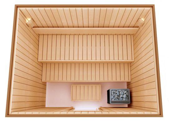kit sauna DIY constructii saune